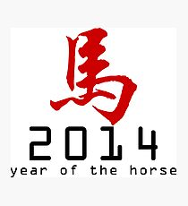 Asian Oriental Chinese Zodiac Horse T-Shirt 2014 Photographic Print