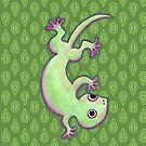 The Gecko by Paul Webster