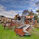 Rusting Away  Rural NSW  by Kym Bradley