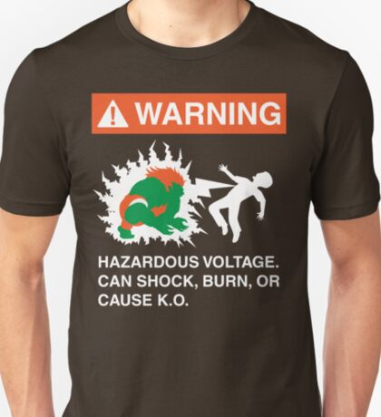 Electric Shock Hazard T-Shirt