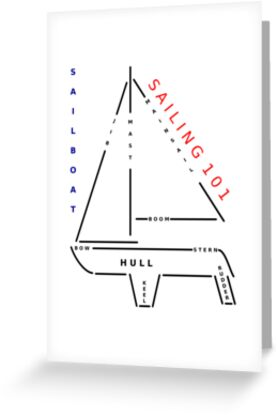 Sailing 101 - The sailboat by Giovanni Vincenti