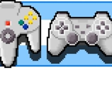 VideoGame Controllers (blue) by Awful-Things