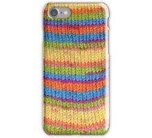 Knitted Sock No. 1 iPhone Case/Skin