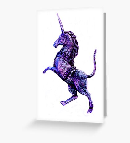 Unicorn Fantasy Greeting Card