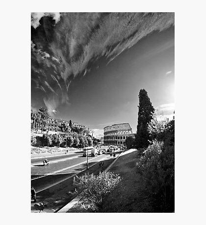 Via dei Fori Imperiali - Roma Photographic Print
