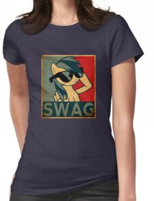 Rainbow Dash Swag Womens Fitted T-Shirt