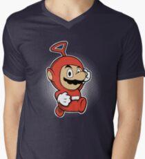 MARIOTUBBIE Men's V-Neck T-Shirt