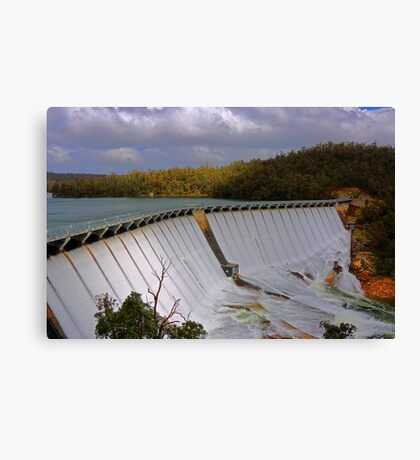 Wellington Dam - Collie Western Australia Canvas Print