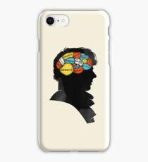 Sherlock Phrenology iPhone Case/Skin