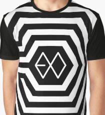 EXO-K 'Overdose' Maze Graphic T-Shirt
