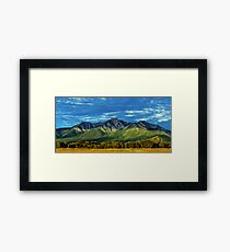 Mount Princeton Summer Sunset Framed Print