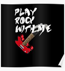 Play Rock with me Poster