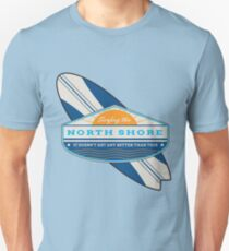 Surfing the North Shore Slim Fit T-Shirt