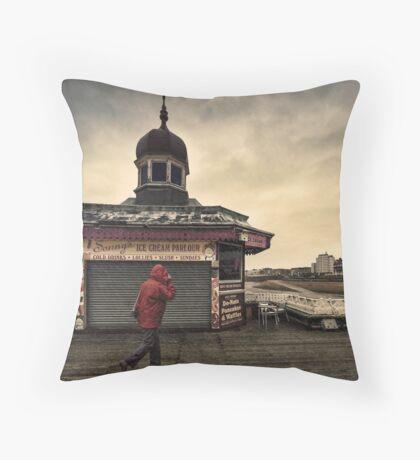 A British Summer Throw Pillow