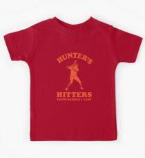 Hunter's Hitters (Orange Version) Kids Tee