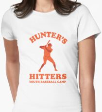 Hunter's Hitters (Orange Version) Women's Fitted T-Shirt