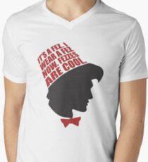 Fezzes are Cool Men's V-Neck T-Shirt