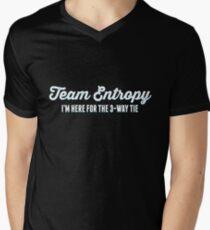 Team Entropy (Light Text) Men's V-Neck T-Shirt
