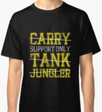 Camiseta clásica League Of Legends: camisa de solo soporte