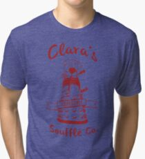 Clara's Impossible Soufflé Company (Red) Tri-blend T-Shirt