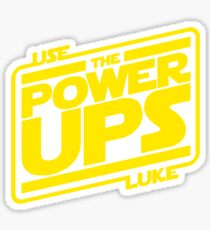 Use the powerups Sticker