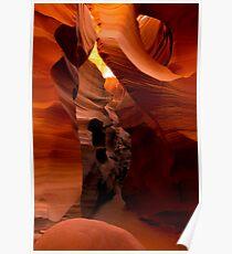 Sandstone Corridor Poster