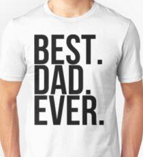 Best Dad Ever Slim Fit T-Shirt