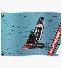 Quand Oracle Team USA gagner l'America's Cup Poster