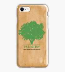 Palestine olive tree T shirts & Gifts iPhone Case/Skin