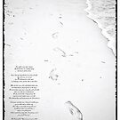 Footprints in the Sand by Ryan Davison Crisp