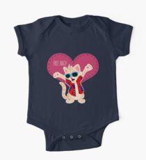 Freeee hugss! miauu Kids Clothes