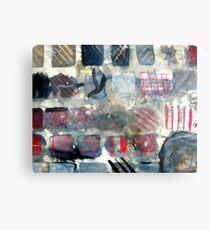 Squares of experimentation Metal Print