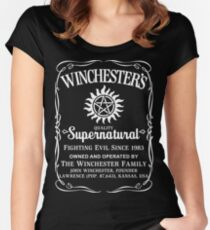 Supernatural Quality Women's Fitted Scoop T-Shirt