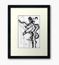 090 Framed Print