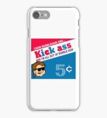 All Out of Bubble Gum White shirt iPhone Case/Skin