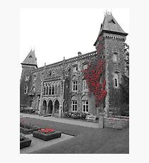 Newton House in the Red (South Wales) Photographic Print