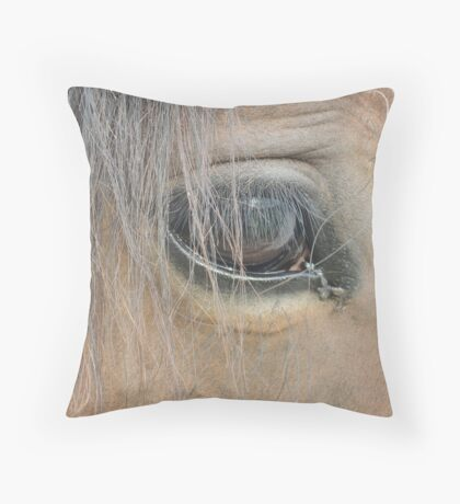 Trust the Animal and He will Trust You Throw Pillow