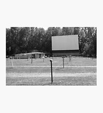 Drive-In Theater Photographic Print