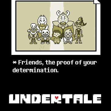 Undertale characters by Javichakalote