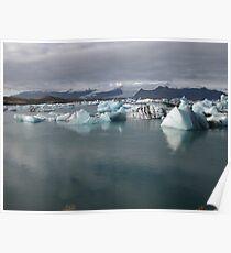 Ice lake Poster