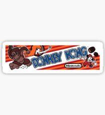 Donkey Kong Arcade Sticker