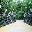 Whale Bridge - Sculpture Trail Flambrorough by technochick