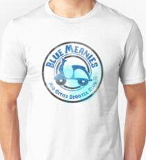 Blue Meanies Logo (Grunge) Unisex T-Shirt