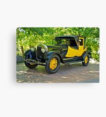 1927 Lincoln Coaching Brougham I Canvas Print