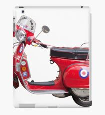 Mod Moped iPad Case/Skin