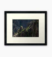 Crag - Black Canyon of the Gunnison National Park, Colorado Framed Print