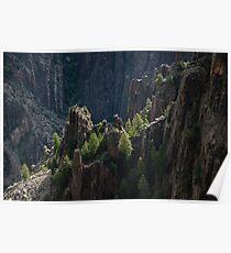Crag - Black Canyon of the Gunnison National Park, Colorado Poster