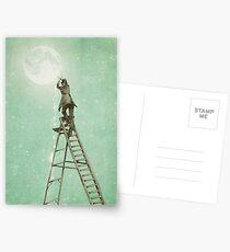 Waning Moon Postcards