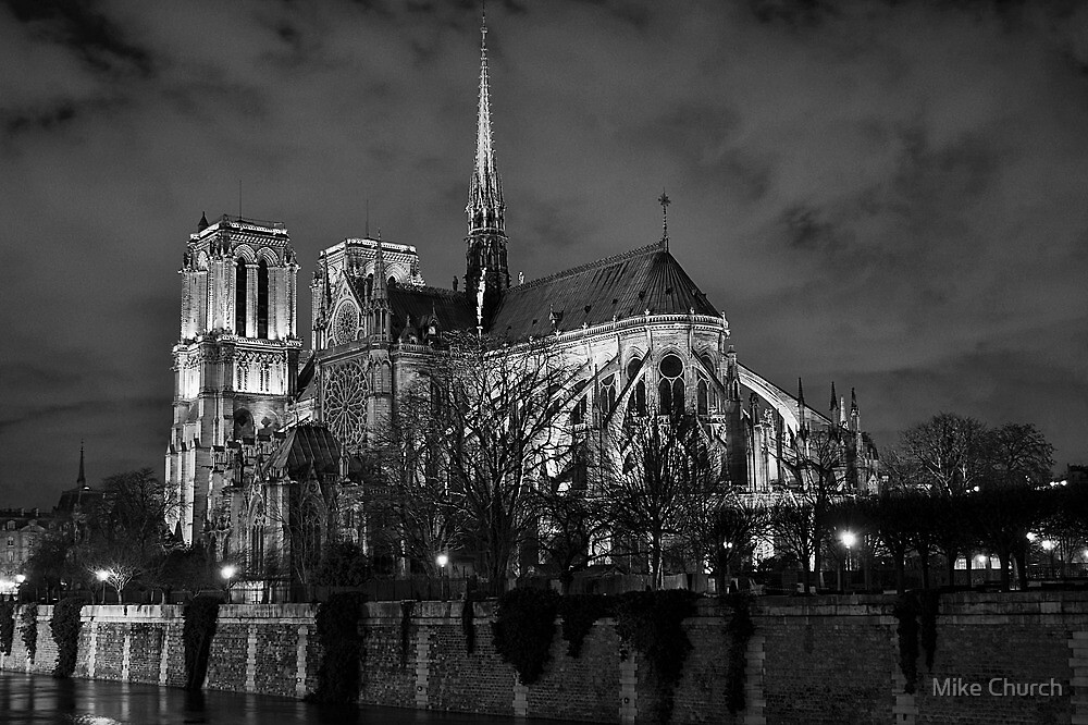 Notre Dame, Paris by Mike Church