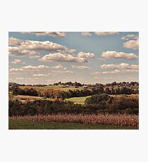 Great Fall Scenery 2 Photographic Print